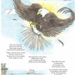 A page from the book ABC Poetry, illustrated by Linda Walker